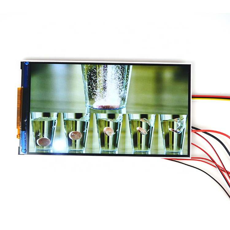 High quality 7 inch digital video brochure components tft lcd screen video greeting card module