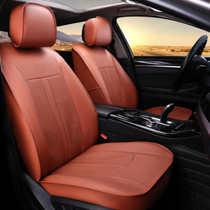 New Leather Orange Car Seat Cover In Multiple Colors