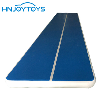 Professional Gymnastics Inflatable Air Foldable Air Floor Tumbling Track For Sale