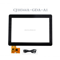 CJ10302A-GDA-A3/CJ10344A-GDA-A1 10.1 inch projected capacitive touch screen 10