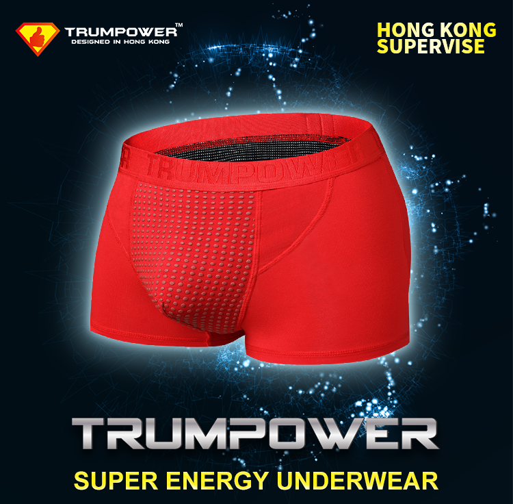 New style loose magnetism underpants infrared underwear for mature men