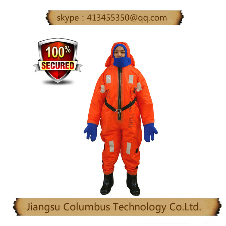 railway and airport construction marine neoprene immersion suit with CE,FDA,ISO