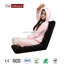 VIsi Great multi-color massage sofa armchair classic legless floor sofa foldable laptop chair designer couch furniture foam bed
