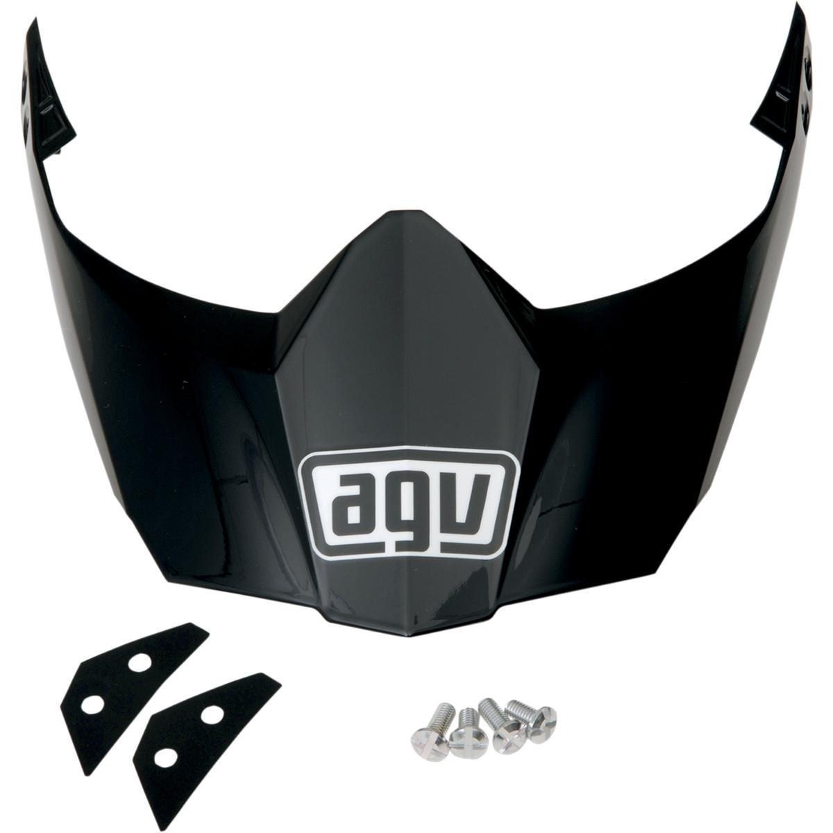5b8e50b1 Get Quotations · AGV Peak AX8DS/EVO Visor Motorcycle Helmet Accessories -  Black One Size