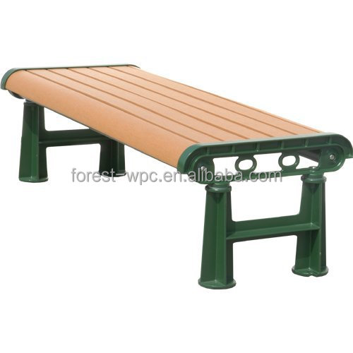 Walnut Outdoor Bench Kits Antique Wpc Plastic Park Bench