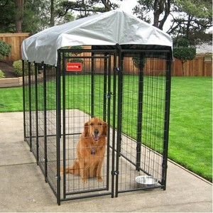cheap iron fence dog kennel