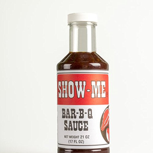 SHOW-ME BAR-B-Q SAUCE (1 Bottle, 17Fl Oz) Barbecue Sauce Spices Seasoning and Rub For: Meat, Ribs, Rib, Chicken, Pork, Steak, Wings, Turkey, Prime Rib, Fish, Seafood, Grill, Grilling, Barbecue, Smoker