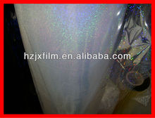 transparent bopet holographic film