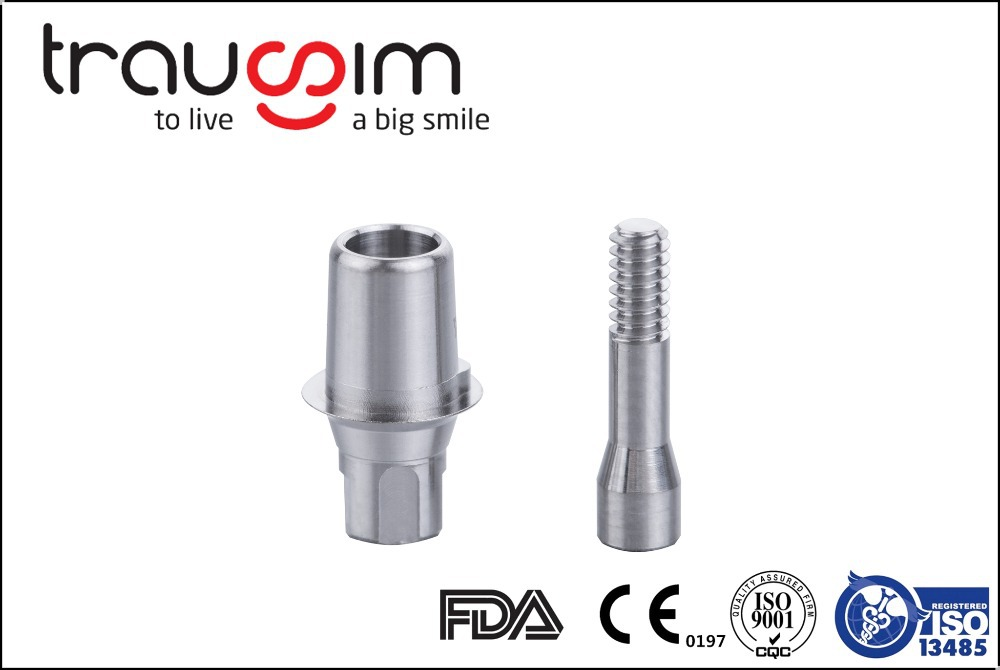 Titanium Aesthetic Abutment Internal Hex SP Dental Implant / Implants