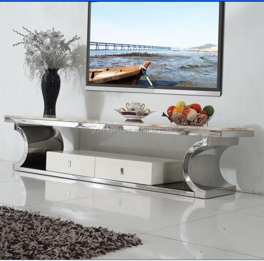 Wholesale high quality home furniture stainless steel tv for Cheap high quality furniture