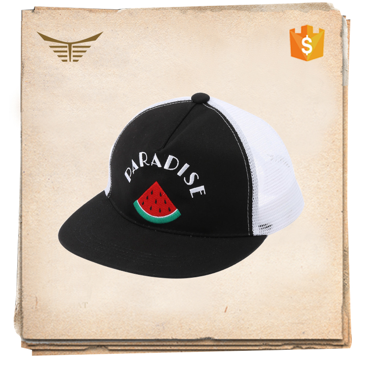 Hat fatcory custom high quality 2d embroidery snapback hat paypal