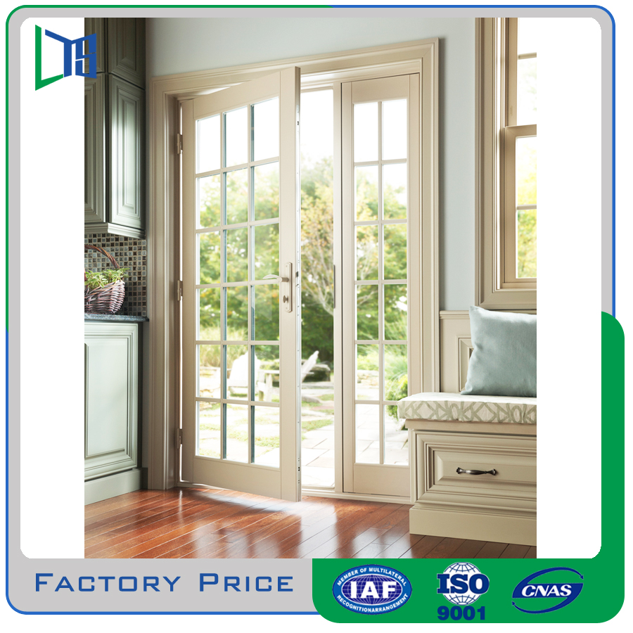 Factory direct high quality french doors with side panels for Patio doors with side panels