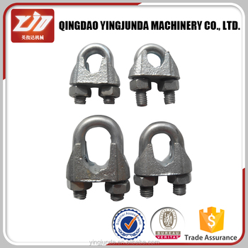 Rigging Din 741 Malleable Wire Rope Clip Metal Wire Rope Clips ...