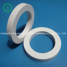 High procision PVC plastic part CNC machined O shape ring PVC sealing gasket