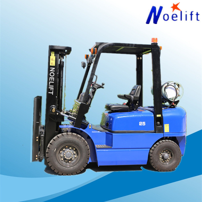 warehouse various high quality second hand 2ton lpg powered forklifts