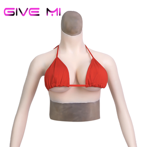 Mold Making Silicone Wearable Breast Rubber Crossdresser For Beautiful Women