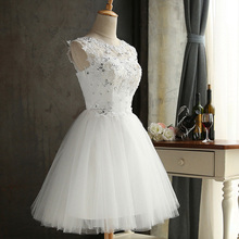 Korean White Lace Crystal Embroidered Princess Dress Mesh Dress Vintage  Lace Up Ball Gown Quality Party f2dfce0ee0dd