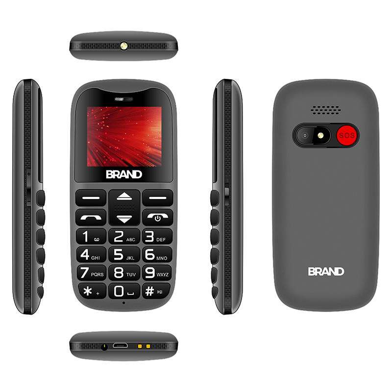 New Arrival TC25 1.8 inch 3G Senior Phone with SOS function