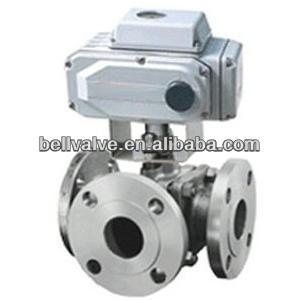 ASTM A216 WCB Body Ball Valve with Electric Actuator