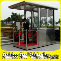 Customed Stainless Steel Security Guard Small Prefab Modern Houses