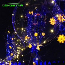 2019 Valentinstag Luminous Led Luftballons Transparent Blase Dekoration Party
