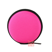 Customized Oxford Fabric Round EVA Case For Fidget Hand Spiner Toy