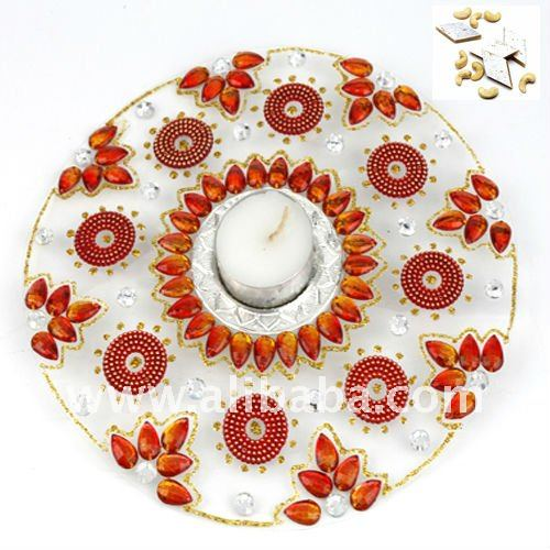 FLOATING RANGOLI DIYAS FLOWERS