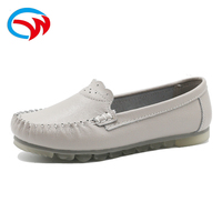 Latest Design Good Sale Pure Real Leather Apparel Party Genuine Leather Casual Shoes