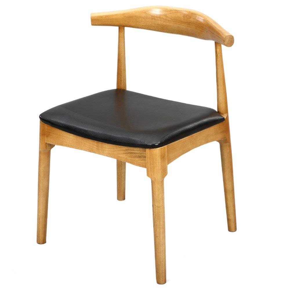 LQQFF Solid Wood Dining Chair, Home Leisure Chair, backrest Chair, Conference Office Computer Chair. - Dining Chair