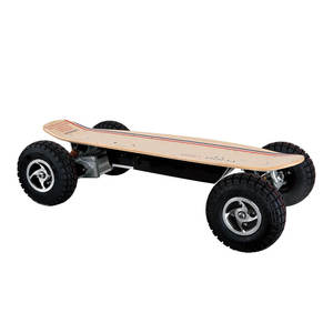 Canadian maple deck electric skateboard 1000w motor dirt