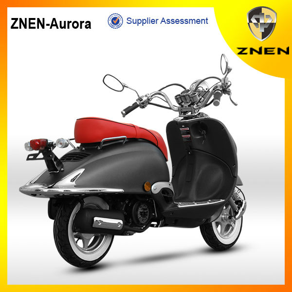 aurora iii new retro scooter 125cc pas cher gaz scooters. Black Bedroom Furniture Sets. Home Design Ideas