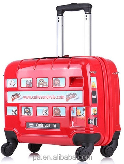kids luggage ABS travel laptop trolley luggage trolley school bags suitcase kids school bags of latest designs
