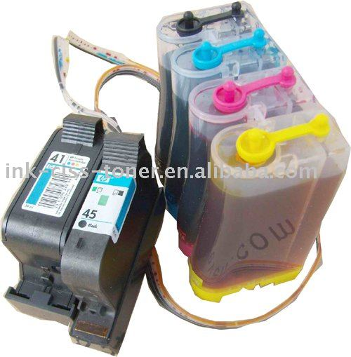 CISS(continuous ink supply system) of 41v45 for Apple: Color StyleWriter 6500 Color Copier: 100 / 110 / 120