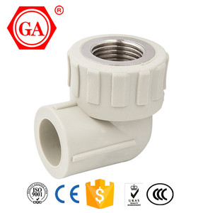 2016 QIAI GA BRAND PPR PIPE FITTING PPR PLASTIC ELBOW/FEMALE ELBOW/FEMALE THREAD ELBOW