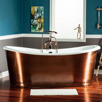 very popular bathroom soaking cast iron copper bathtubs photos india