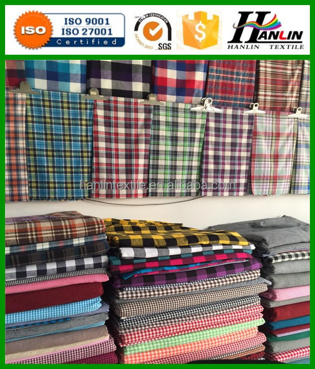 100% Cotton Yarn dyed Herring bone Flannel Plaid ( Inside Brushed ) in 30x 30/110x 70 - 150 gsm