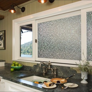 New Design Glass Decoration Static Window Film Energy Saving