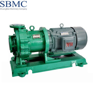 High efficiency teflon lined chemical pump motor