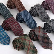 2016 Wholesale Leisure Fashion Man Wool Tie For Men