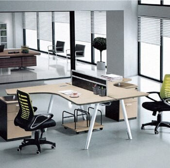2015 best price super quality two person furniture office
