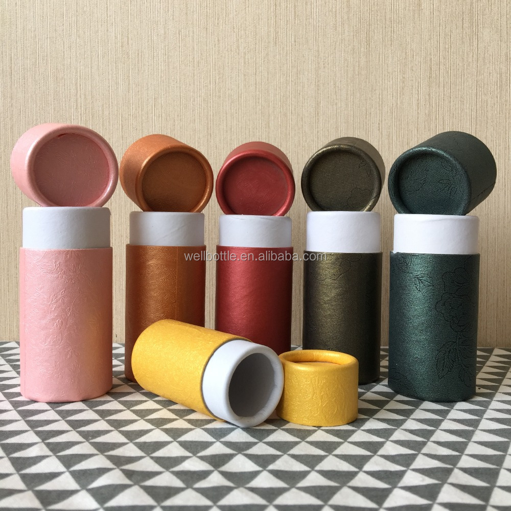 biodegradable paper tube for fabric rolling cardboard cosmetic paper tube PT-61R