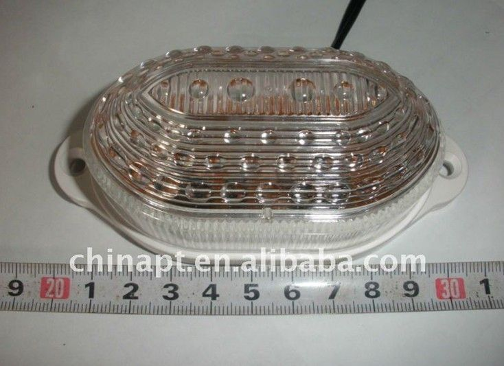 Factory price 24v amber mixed red led side light for Trailers Trucks and boats