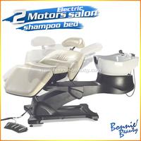 high quality lay down washing salon shampoo chair