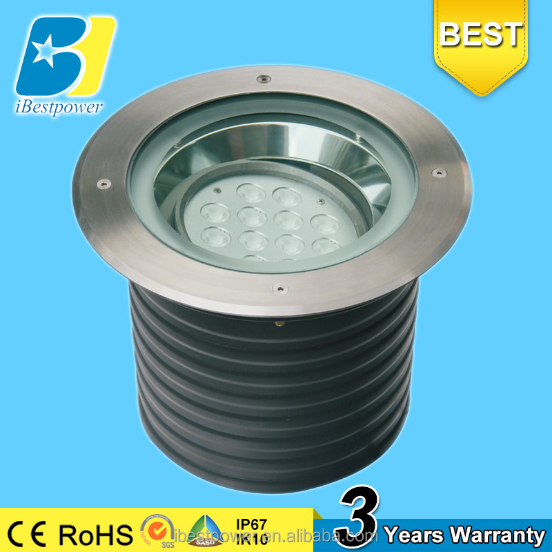 Warm White Recessed Ground Led Stair Light 14w Intertek Lighting Parts For Underground Lamp