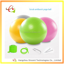 Wholesale Antiburst 65cm Yoga Gym Ball with Quick Inflation Pump Gym