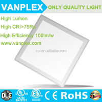 Lower price alunminum led panel lights dimmable hot sale in American market