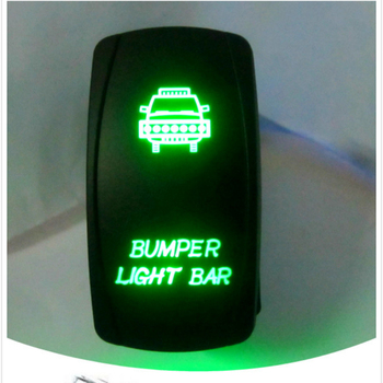 Quality Assurance On Off Customized Symbols Lighted 5 Terminals 5