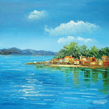 Beautiful acrylic landscape paintings on canvas