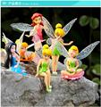 Six set children s toys fantastic Flower Fairy Elves Bishojo doll Children s Day the gift