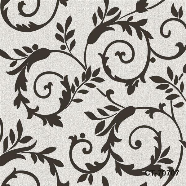 Colore bianco e nero carta da parati prodotti per la casa for Wallpaper home goods